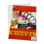 FAVINI ART กระดาษร้อยปอนด์ หยาบ 1 หน้า A4 200gsm.