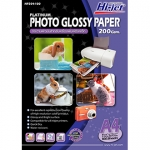 Hi-jet GLOSSY PHOTO PAPER 200 gsm. A4 (100 แผ่น)