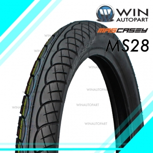 80/90-17 T/T ยี่ห้อ MASCASEY รุ่น MS28 ยางมอเตอร์ไซค์ WINAUTOPART สำหรับ SMASH 2017 , WAVE 100, WAVE 125 , SMASH REVOLUTION , SMART 04 , SHOGUN 125 , DREAM 125 , SPARK NANO , GD110 HU, RAIDER 150 R FL , SMASH FI , WAVE 110i , AT WAVE 110i , DREAM 110i ,
