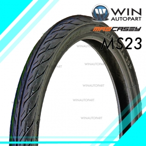 70/90-17 T/T ยี่ห้อ MASCASEY รุ่น MS23 ยางมอเตอร์ไซค์ WINAUTOPART สำหรับ SMASH 2017 , WAVE 100, WAVE 125 , SMASH REVOLUTION , SMART 04 , SHOGUN 125 , DREAM 125 , SPARK NANO , GD110 HU, RAIDER 150 R FL , SMASH FI , WAVE 110i , AT WAVE 110i , DREAM 110i ,