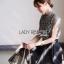 Lady Ribbon Mini Flower Lace Top ขายเสื้อทรงคอสูง thumbnail 3