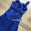 Rosie Sexy Chic Cut-Out Electric Blue Dress thumbnail 4