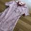 Lady Ribbon Pink Lace Mini Dress มินิเดรสสีชมพู thumbnail 5