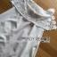 Lady Ribbon Online ขายส่งเสื้อผ้าออนไลน์เลดี้ริบบอน LR20010816 &#x1F380 Lady Ribbon's Made &#x1F380 Lady Nicole Sweet Feminine Off-Shoulder Lace and Polyester Dress thumbnail 6