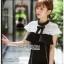 White Lace Crepe Dress thumbnail 5