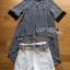 Lady Ribbon Striped Belt Set เซ็ตเสื้อผ้าชีฟองลายทาง thumbnail 6