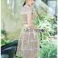 Lady Ribbon Dress เดรสสีเหลืองพาสเทล thumbnail 5