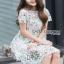 Lady Ribbon Lizzy Lace Mini Dress thumbnail 1