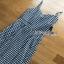 Back-Ribbon Checked Dress Lady Ribbon เดรสสายเดี่ยว thumbnail 5