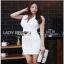 Lady Ribbon Suit Dress ขายสูทเดรสแขนกุด thumbnail 4