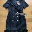 Suit Dress Lady Ribbon สูทเดรสผ้าเครป thumbnail 8
