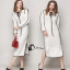 Cliona Dress - เดรสไหมพรมคาดิแกนสีขาวสุดนุ่ม thumbnail 2