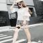 เสื้อผ้าแฟชั่นเกาหลีเซ็ทหวานๆ แบบสาวชิลล์ เสื้อเนื้อผ้าสวย thumbnail 3