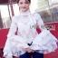 Lady Ribbon Lace Blouse เสื้อผ้าลูกไม้แขนบาน thumbnail 1