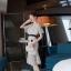 เดรสเกาหลีผ้าปักเสื้อคอ V thumbnail 3