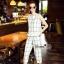 Lady Ribbon Online เสื้อผ้าออนไลน์ขายส่ง Normal Ally เสื้อผ้า NA12180816 &#x1F389Normal Ally Present casual summer scoth set&#x1F389 (เสื้อ + กางเกง , มีซับใน) thumbnail 3