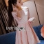 Sweet Allure Lady Ribbon White Lace Dress thumbnail 2