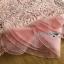 Lady Ribbon Pink Lace Dress with Organza Ruffle thumbnail 6