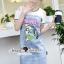 SS19010916 Seoul Secret Say's... Smurffy Chic Denim Dress Material : น่ารักๆ สดใสสไตล์คุณหนู thumbnail 2