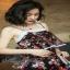 ผ้าตาข่ายปักลายดอกไม้ thumbnail 5