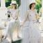 Lady Ribbon ออนไลน์ เสื้อผ้าออนไลน์ พร้อมส่งของแท้ SV02130716 &#x1F389Sevy Rising Star Knit Dress thumbnail 2