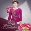 Dress เดรสลูกไม้ลุคเกาหลีเสื้อผ้าแฟชั่นเรียบหรู thumbnail 3