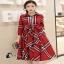 Dress Jacket -เดรสลายสก๊อตแบรนดัง. thumbnail 2