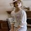 Rose Embroidered Peplum Top Lady Ribbon เสื้อผ้าคอต thumbnail 6