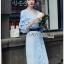 Cotton Dress Lady Ribbon เดรสผ้าคอตตอน thumbnail 4
