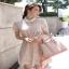 Lady Feona Feminine Collared Lace Shirt Dress thumbnail 2