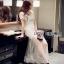 Lady Ribbon Tulle Evening Dress thumbnail 5