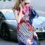 Lady Ribbon Online เสื้อผ้าออนไลน์ขายส่ง Normal Ally เสื้อผ้า NA10180816 &#x1F389Normal Ally Present Elegance Silp scarf dress&#x1F389 thumbnail 2