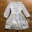 Lady Grace White Chiffon Mini Dress thumbnail 6