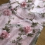 Lady Ribbon Pink Rose Embroidered Over Pink Lace Dress thumbnail 5