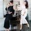 Lady Ribbon ออนไลน์ เสื้อผ้าออนไลน์ พร้อมส่งของแท้ SV03130716 &#x1F389Sevy Two Pieces Of Hollow Knit Blouse With Skirt Sets thumbnail 2