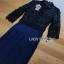 Lady Ribbon Self-Portrait Black Jumpsuit thumbnail 7