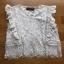 White Lady Ribbon Lace Top ขายเสื้อผ้าลูกไม้สีขาว thumbnail 3