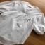 Lady Ribbon Embroidered White Cotton Top เสื้อผ้าคอตตอนสีขาว thumbnail 9