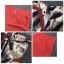Lady Ribbon Online เสื้อผ้าแฟชั่นออนไลน์ขายส่ง เลดี้ริบบอนของแท้พร้อมส่ง sevy เสื้อผ้า SV08240716 &#x1F389Sevy Two Pieces Of Leave Stripes With Red Shorts Sets thumbnail 5