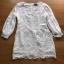 White Lady ribbon Lace and Chiffon Dress เดรสผ้าลูกไม้ thumbnail 8