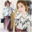 Lady Carlie Graphic Cut-Out Flared-Sleeve Top thumbnail 2
