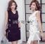 White Dress เดรสผ้าวิสโคส thumbnail 1