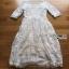 Lady Ribbon Jena White Lace Dress thumbnail 11