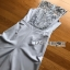 Lady Ribbon Baby Blue Lace and Crepe Jumpsuit thumbnail 8