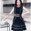 Lady Daria Minimal Chic Little Black Dress thumbnail 1