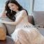Lady Ribbon Sara Sweet Basic White Lace Dress thumbnail 3