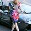 Lady Ribbon Online เสื้อผ้าออนไลน์ขายส่ง Normal Ally เสื้อผ้า NA10180816 &#x1F389Normal Ally Present Elegance Silp scarf dress&#x1F389 thumbnail 5