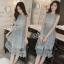 Lady Ribbon ออนไลน์ เสื้อผ้าออนไลน์ พร้อมส่งของแท้ SV06130716 &#x1F389Sevy Sleeveless Vintage Hollow Lace Dress thumbnail 2