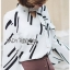 Lady Carlie Graphic Cut-Out Flared-Sleeve Top thumbnail 1