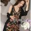 Lady Penelope Lady Ribbon cotton Dress ขายส่งเดรสแขนกุด thumbnail 2